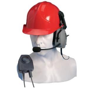 Entel HT Series 2.0 Single Earpiece Ear Defender, PTT/VOX