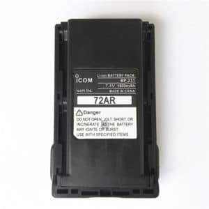 ICOM IC-F34/IC-F3022/IC-F4029SDR 1150mAh Li-ion Battery