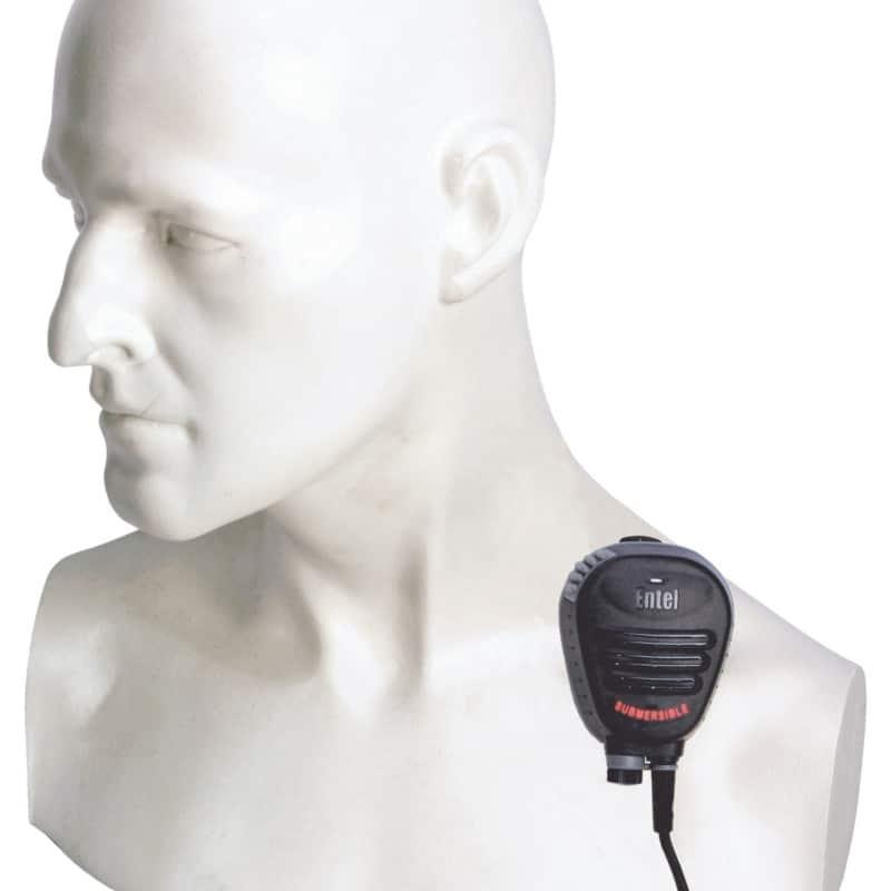 Entel Euro-Wave Submersible N/Cancelling Remote Speaker Mic