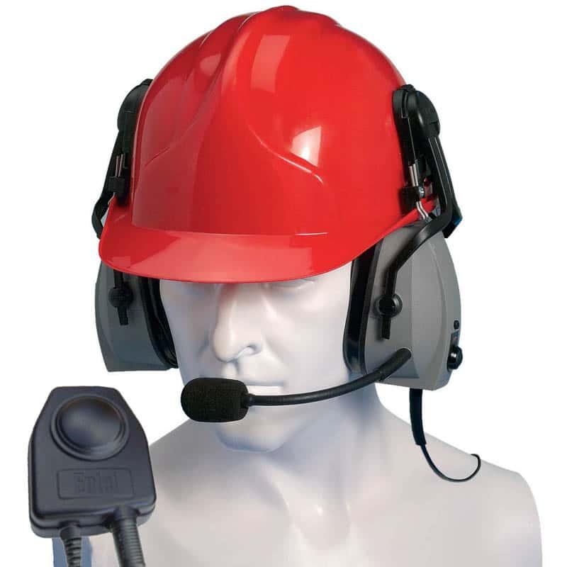 Entel HT Series 2.0 Double Earpiece ATEX Ear Defender -Hard Hat Use
