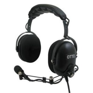 ICOM IC-F51/IC-F61 Over Head Headset, N/Cancelling ATEX Approved