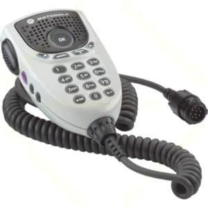 Motorola DM4000 Series Keypad Mic With Enhanced Audio