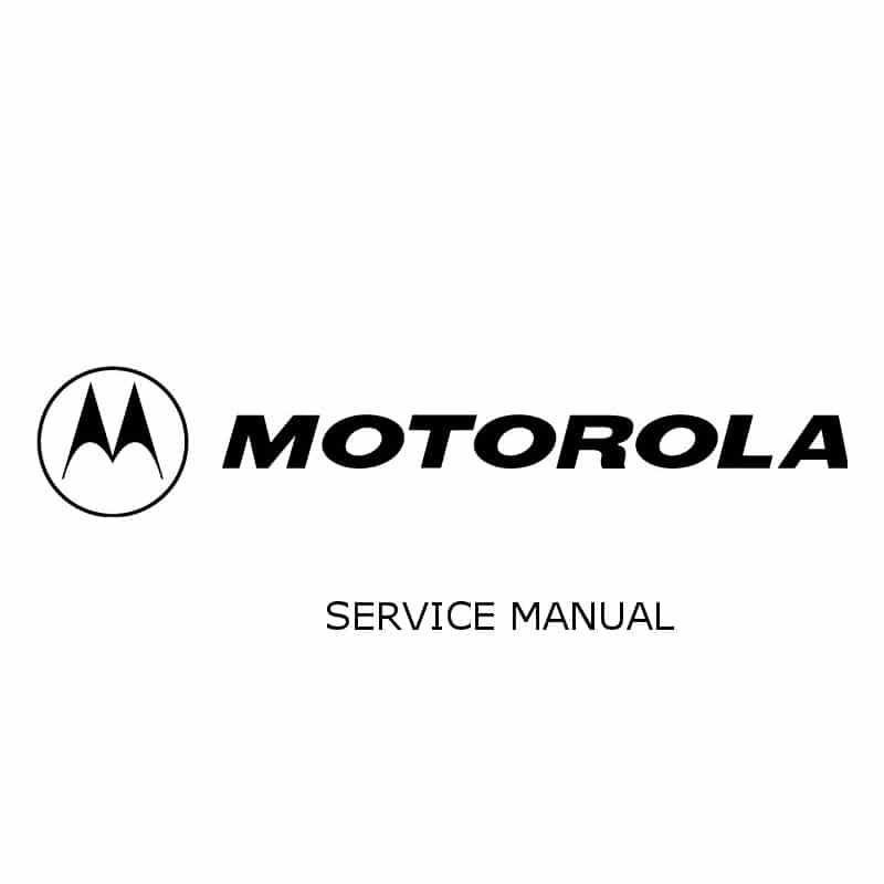 Motorola DP3000 Series Detailed Service Manual