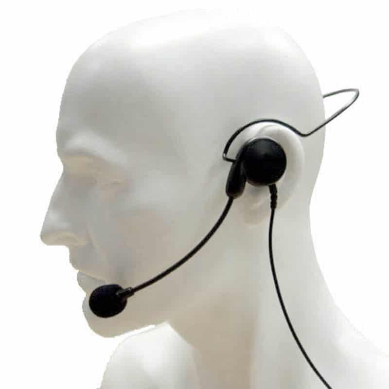 Entel HX400 1.0 Lightweight Single Earpiece Headset