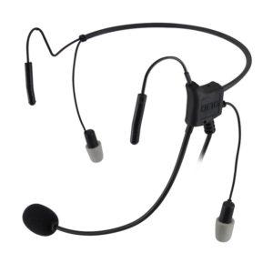Kenwood TK Series Hurricane lightweight Headset, Twin Pin Connection