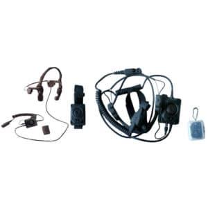 Simoco SDP750/760 Bone Conduction Headset & Wireless PTT