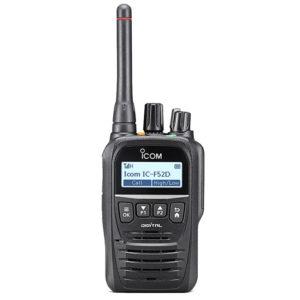 IC-F52D/IC-F62D Compact Digital Portable Radio
