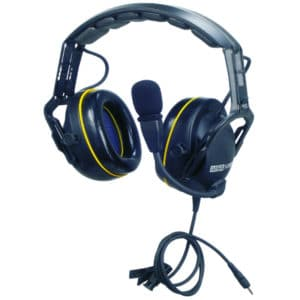 ICOM IC-F Series CutOff Active N/Cancelling Headset, Boom Mic, Earshell PTT
