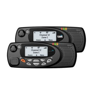 TM9357 Dual Control Head Digital Mobile Radio