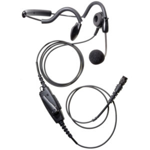 Hytera PD7/9 Series Behind The Head Headset - Hirose Connector