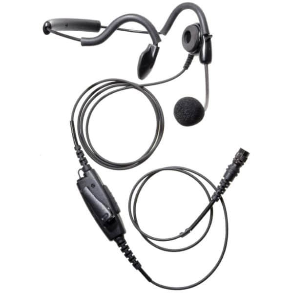 ICOM IC-F30/40 Behind The Head Headset - Hirose Connector