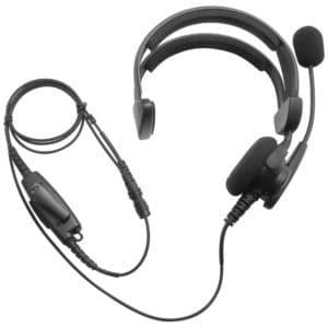 Kenwood TK Series Over Head Lightweight Headset - Hirose Connector