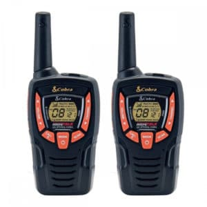 AM645 Portable Licence Free Radio Twin Pack