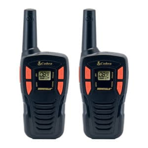 AM245 Portable Licence Free Radio Twin Pack