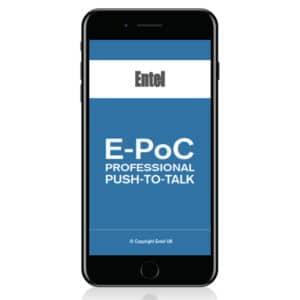 Entel E-PoC/IOS & E-PoC Android Smartphone App