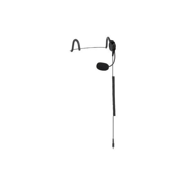 Hytera PT790Ex Behind Head Headset, Flexible Boom Microphone