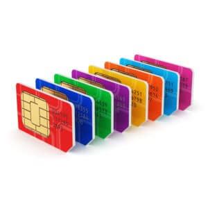 ICOM IP501H Server Connection & SIM Card - Billing Options