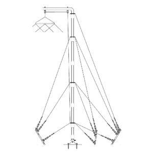 Barrett 10 Metre Lightweight Aluminium Mast