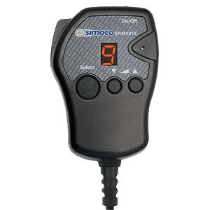 Simoco SRM9010 Fist Microphone With LED Display
