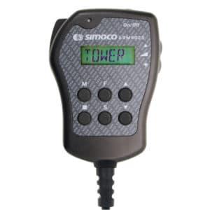 Simoco SRM9020 Fist Microphone With LCD Display