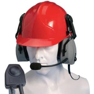 Entel HX Series 2.0 Double Earpiece Ear Defender & PTT/VOX