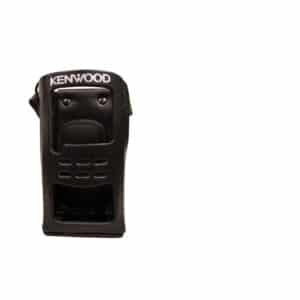 Kenwood NX-200/NX-300 Leather Case With Swivel Belt Clip