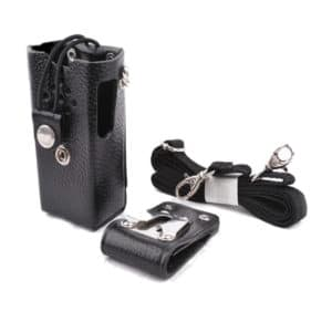 HYT TC-600 Leather Carry Case With Belt Loop