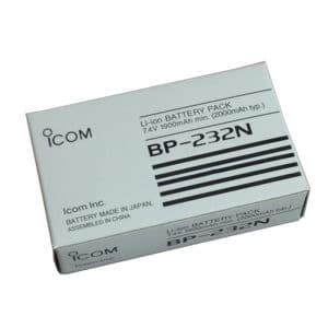 ICOM IC-F34/IC-F3022/IC-F3162 2000mAh Li-ion Battery
