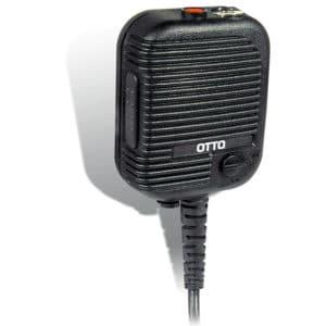 Kenwood TK-2140/TK-2180 Speaker Mic, Hi/Low Background Noise ATEX