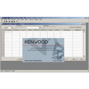 Kenwood NX-230Ex/NX-330Ex Radio Programming Software