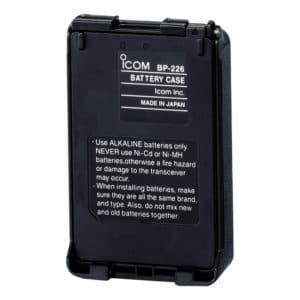 ICOM IC-F61M/IC-M87 Radio Battery Case