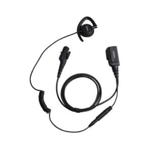 Hytera PD7O5/PD785 Swivel Earpiece With Inline Mic/PTT