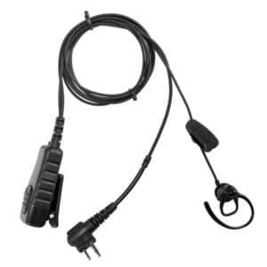 Motorola CP040/GP300 Bone Conduction Mic & Earpiece (2 Pin)