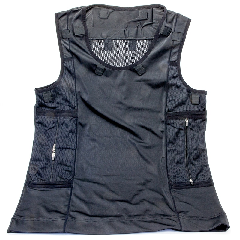 Full Vest Harness In White (Radio Pocket Right Hand Side)