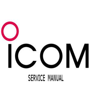 ICOM IC-M801 Marine Radio Service Manual (CD Version)
