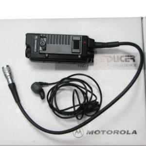 Motorola CP040 Bone Inductive Ear Microphone, PTT Interface