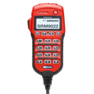 Simoco SRM9022 Red Controller Microphone