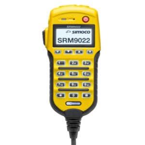 Simoco SRM9022 Yellow Controller Microphone