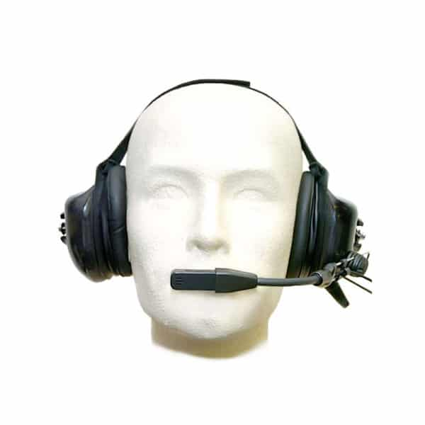 Entel HT Series 2.0 CC Passive Neckband Headset,PTT- Coil Lead