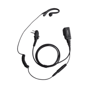 Hytera PD505/PD565 C Shape Earpiece With Inline Mic/PTT