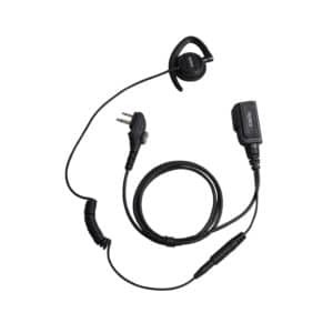 Hytera PD505/PD565 Over Ear Adjustable Earpiece, Inline Mic/PTT