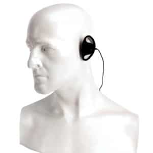 Entel HT Series Listen Only D-Shaped Earpiece