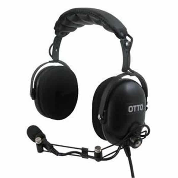 ICOM IC-F Series Over Head Dual Heavy Duty Headset & PTT