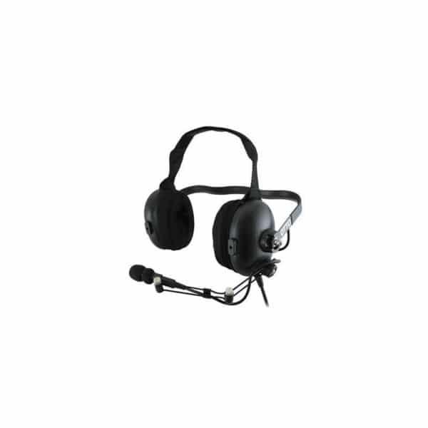 ICOM IC-F Series Behind Head Dual Heavy Duty Headset With PTT