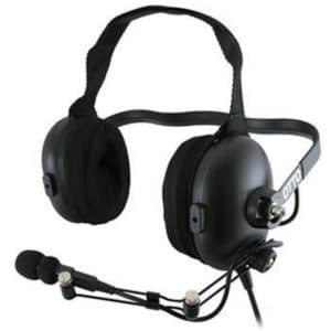 Motorola CP040 ClearTRAK, Behind Head Headset, Earcup PTT