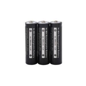Cobra MT645VP 1000mAh NiMH AA Batteries - PK 3