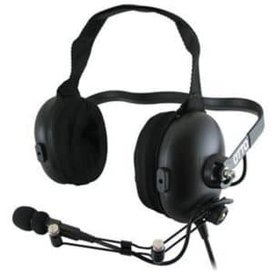 Vertex VX Series ClearTRAK, Behind Head Headset - Earcup PTT