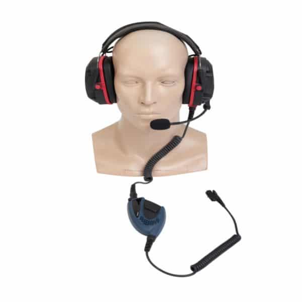 Hytera PD7 ATEX Heavy Duty Headset Inc PTT