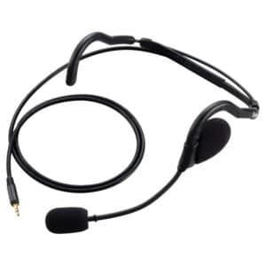 ICOM IC-F1000/IC-F29DR Headset With Boom Mic -LWP Plug