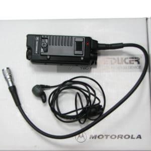 Motorola CP040 Voiceducer Ear Mic, VOX/PTT Interface Module
